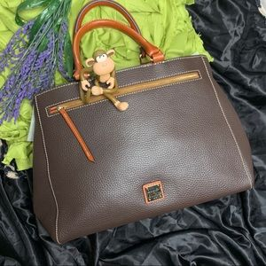 DOONEY & BOURKE Brown Satchel or Crossbody bag